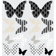 3D Butterflies Peel and Stick Wall Decal