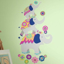 Waverly Elephant Mega Peel and Stick Giant Wall Decal