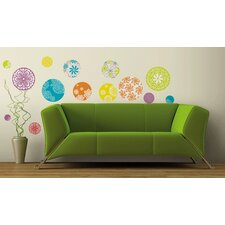 Zadie 20 Piece Patterned Dots Wall Decal