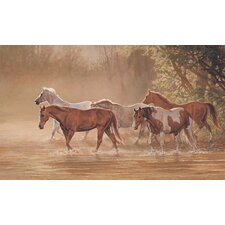 Misty River Prepasted Wall Mural