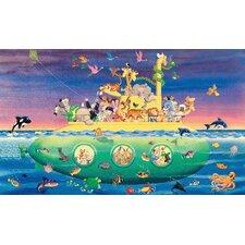 Noah's Sub Prepasted Wall Mural