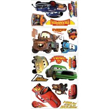 19 Piece Disney Pixar Cars Piston Cup Champs Wall Decal Set