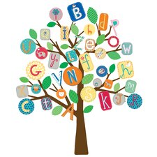 ABC Tree Giant Wall Decal