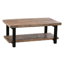 "Pomona 42"" Reclaimed Wood/Metal Coffee Table"
