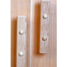 Cedar Dummy Door Knob (Set of 2)