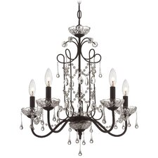 5 Light Candle Chandelier