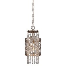 Lucero Florentine 1 Light Mini Pendant