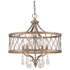 West Liberty 5 Light Drum Chandelier