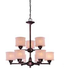 1730 Series 9 Light Chandelier