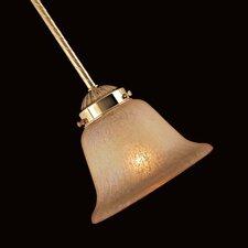 "4.5"" Glass Bell Ceiling Fan Fitter Shade"