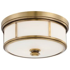 Harbour Point 2 Light Flush Mount