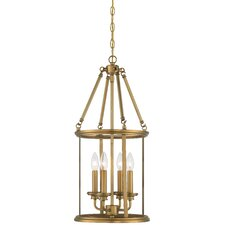 Harbour Point 4 Light Foyer Pendant