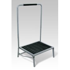 1-Step Folding Step Stool with 350 lb. Load Capacity
