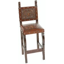 Colonial Bar Stool with Cushion