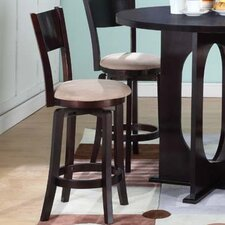 "22"" Bar Stool with Cushion (Set of 2)"