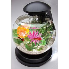 1.8 Gallon Tetra Waterfall Globe Aquarium Kit