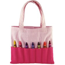 Doodlebugz Crayola Crayon Purse in Hot Pink / Light Pink
