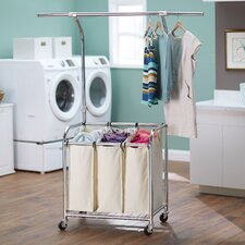 Laundry Center with Clothes Rack