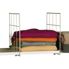Metal Shelf Divider (Set of 2)