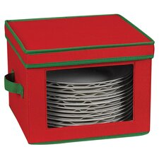 Storage and Organization Holiday Dinner Plate Chest