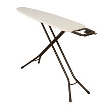Deluxe 4 Leg Ironing Board with Iron Rest