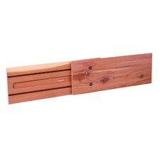 Tension-Mount Cedar Drawer Divider