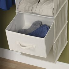 Storage and Organization Drawer for Six Shelf Organizer in Natural (Set of 2)