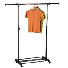 Storage & Organization Extendable Garment Rack