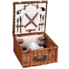 Willow Hand Woven Picnic Basket