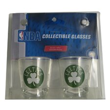 NBA Shot Glass Cup (2 Pack) - Boston Celtics