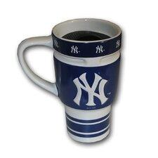 MLB 16 Oz. Sculpted Travel Mug