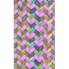 Tropical Delight Pink Stair Tread (Set of 2)