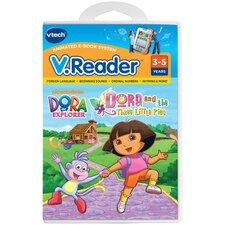 Nickelodeon Dora the Explorer V. Reader Cartridge - Dora and the Three Little Pigs