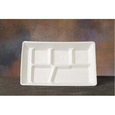 Foam School Tray in White