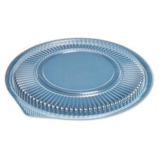 Microwave Safe Round Container Lid in Clear