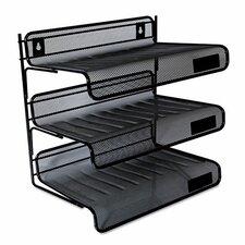 Mesh 3-Tier Desk Shelf
