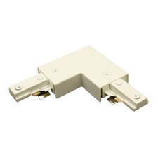 """Single Circuit Track Lighting System """"L"""" Connector for Juno Series"""