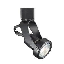Miniature Luminaire Pivot Line 1 Light Voltage Track Head