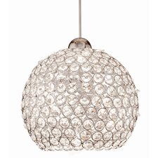 Crystal Roxy Quick Connect 1 Light Pendant