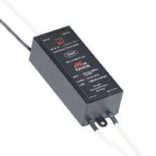 150W 24V Remote Electronic Transformer in Black