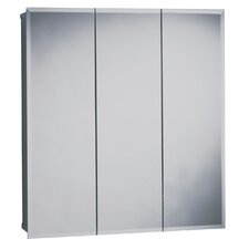 "23.63"" x 25.5"" Surface Mount Beveled Edge Medicine Cabinet"