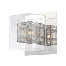 Jewel Box 1 Light Bath Vanity Light