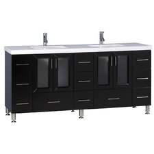 "72"" Double Sink Vanity Set"
