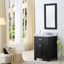 "Madison 24"" Single Bathroom Vanity Set with Mirror"
