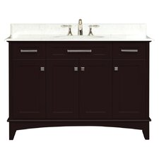 "Manhattan 48"" Single Standard Bathroom Vanity Set"