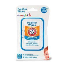 36 Pack Arm and Hammer Pacifier Wipes (Set of 2)