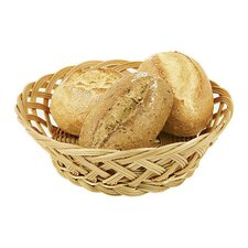Round Polyrattan Bread Basket (Set of 3)
