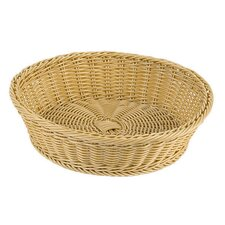 Large Round Polyrattan Bread Basket