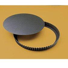"""4.75"""" Fluted N-Stick Tart Pan (Set of 3)"""
