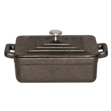 Tabletop Cookware 0.01 Qt. Cast Iron Rectangular Casserole (Set of 3)